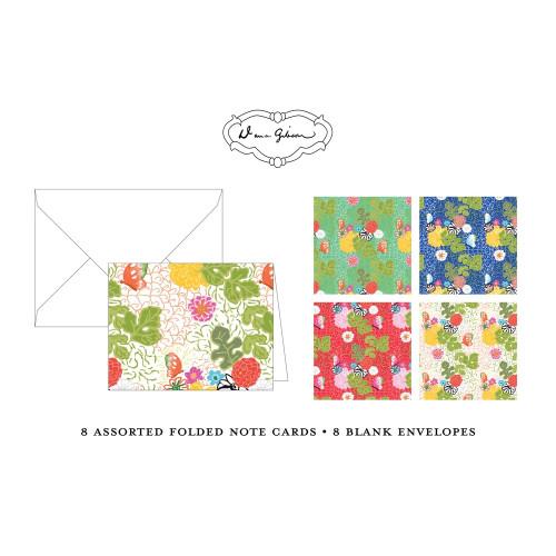 Dana Gibson - Kimono Assorted Folded Notes