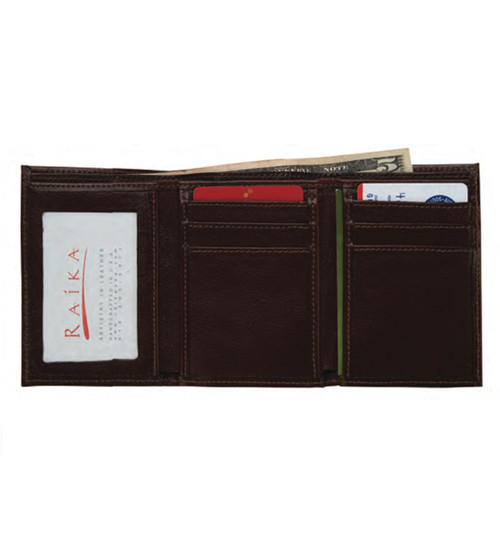 Raika USA Men's Trifold Wallet