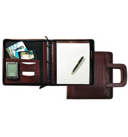 Raika USA Zipper Binder With Retractable Handle