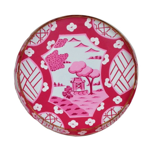 Small Canton in Pink Tray