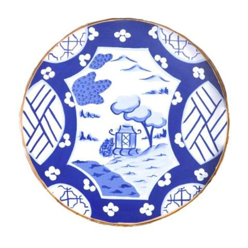 Small Canton in Blue Tray