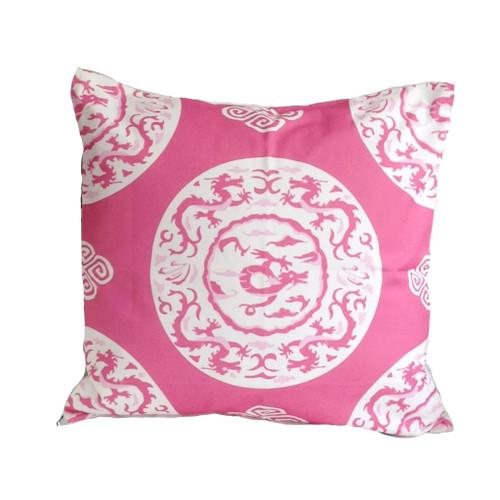 "Dana Gibson Pinkdragon 22"" Pillow"