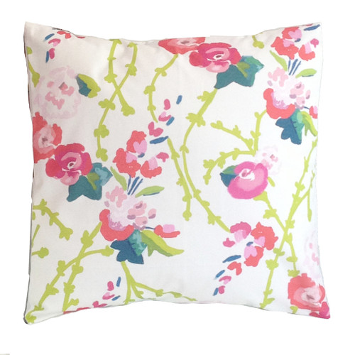 "Dana Gibson Chintz 22"" Pillow"