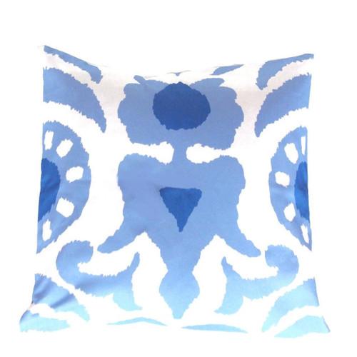 """Dana Gibson Blue Agra 22"""" Pillow"""
