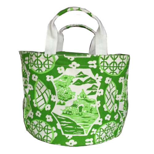 Canton Green Bucket Tote