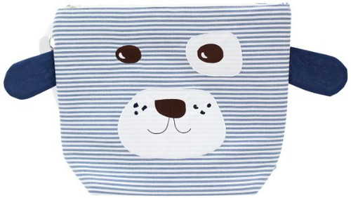 Nikiani Scout Blue/White Striped Doggy Cotton Wet Bag & Backpack