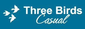 three birds casual logo