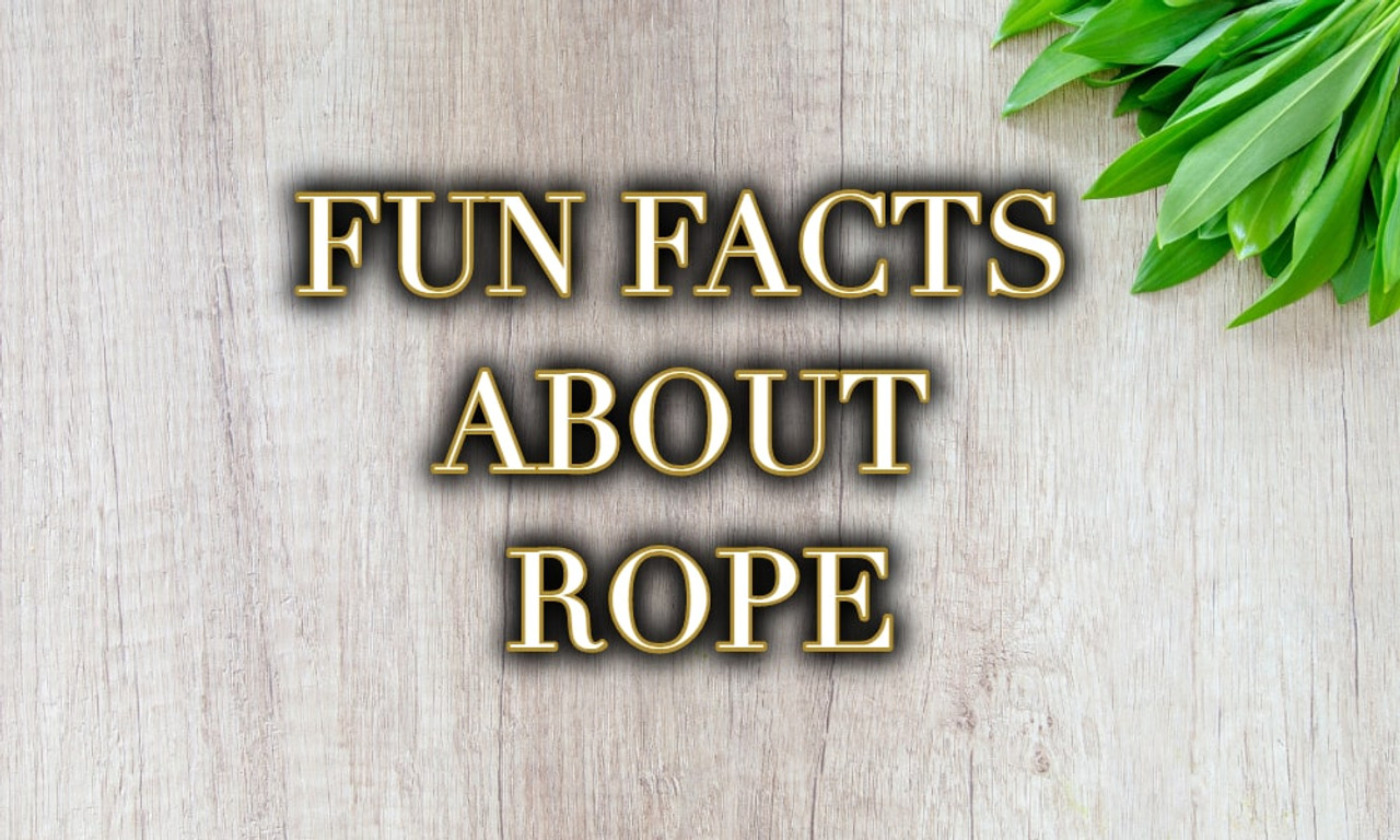Fun Facts About Rope