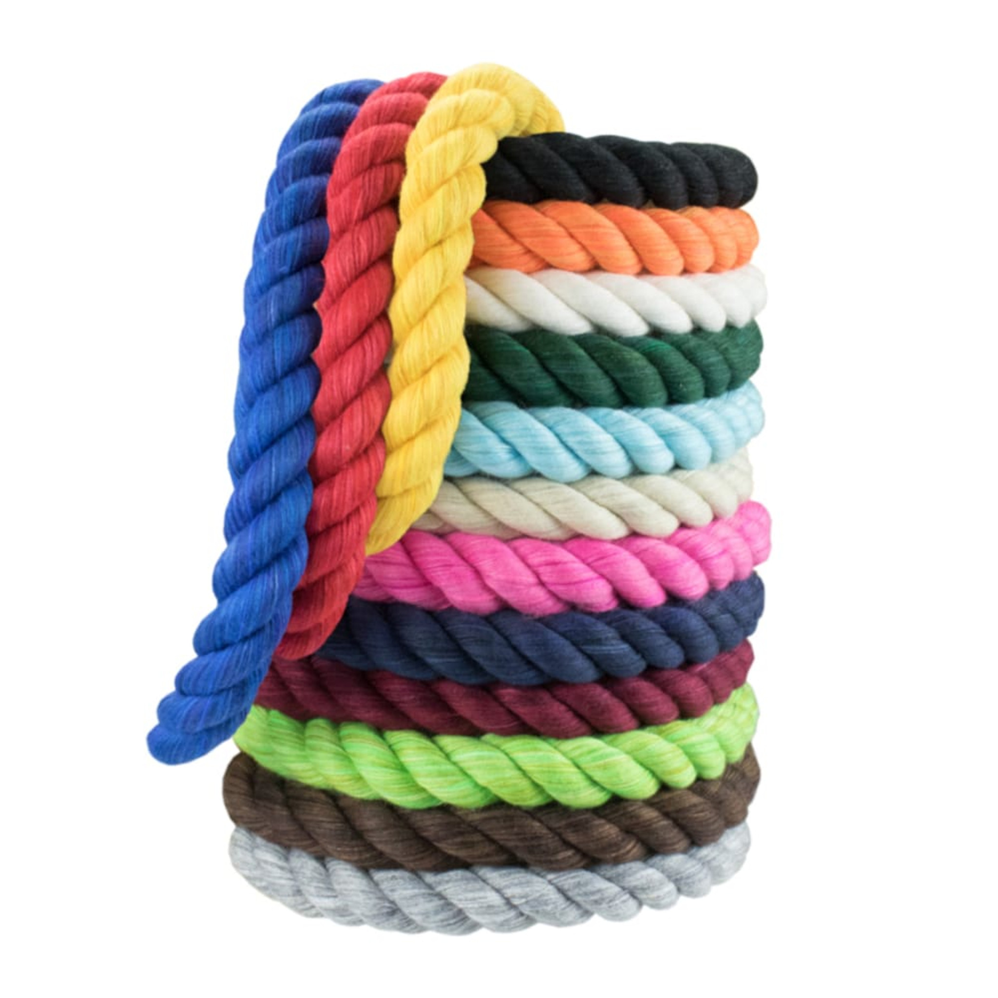 Twisted Colored Cotton Rope Rope Cord