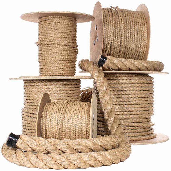UnManila Rope - Multiple Sizes