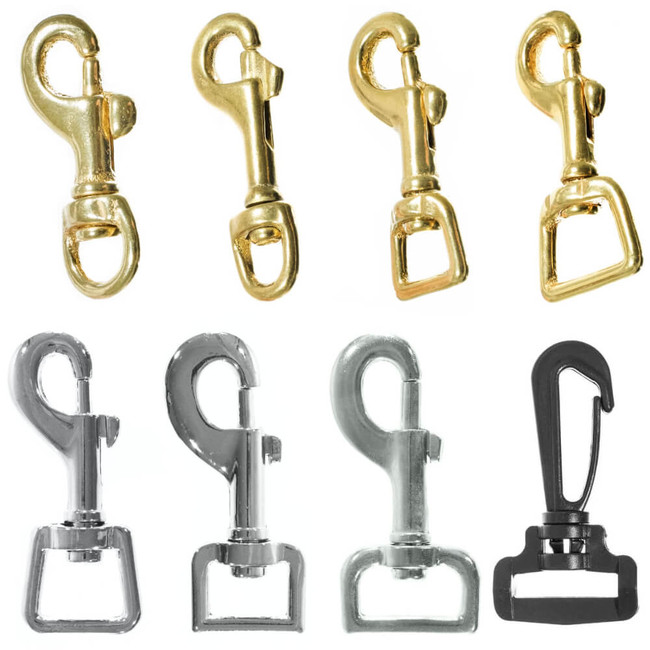 Swivel Snap Hooks - Different Kinds