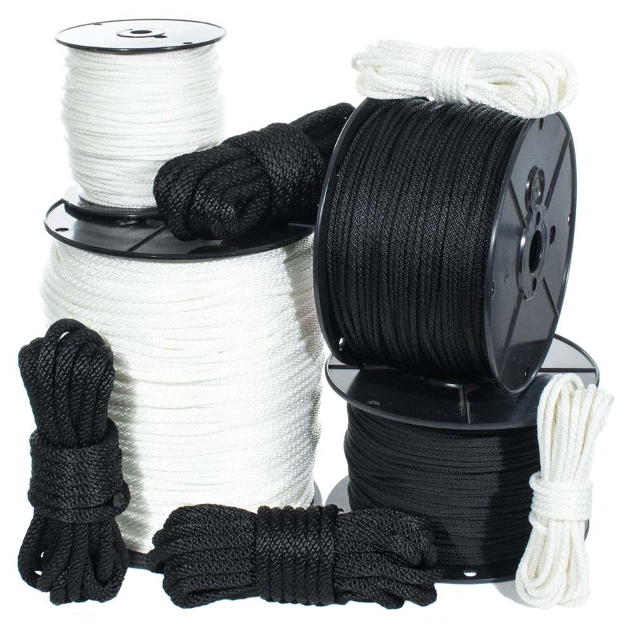 Solid Braid Nylon Rope
