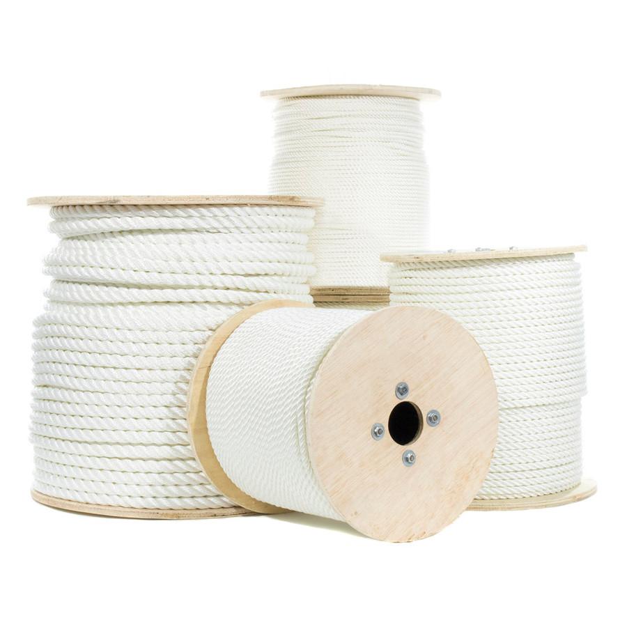 Twisted Nylon Rope Rope - Multiple Sizes