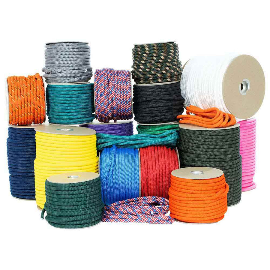 Polypro Utility Rope - Multiple Size and Color Options