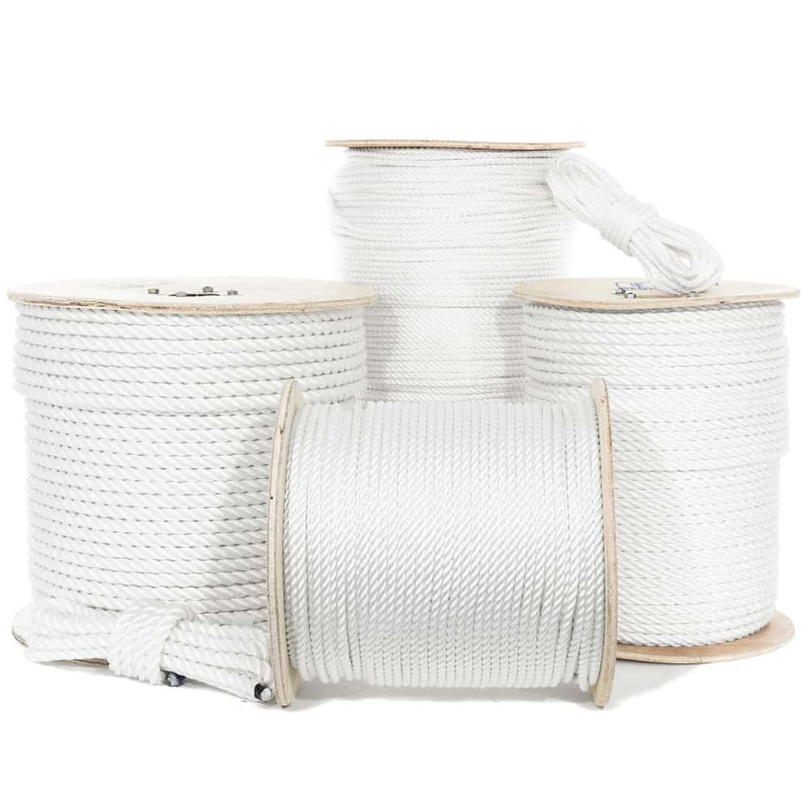 Three Strand Twisted Polyester Rope
