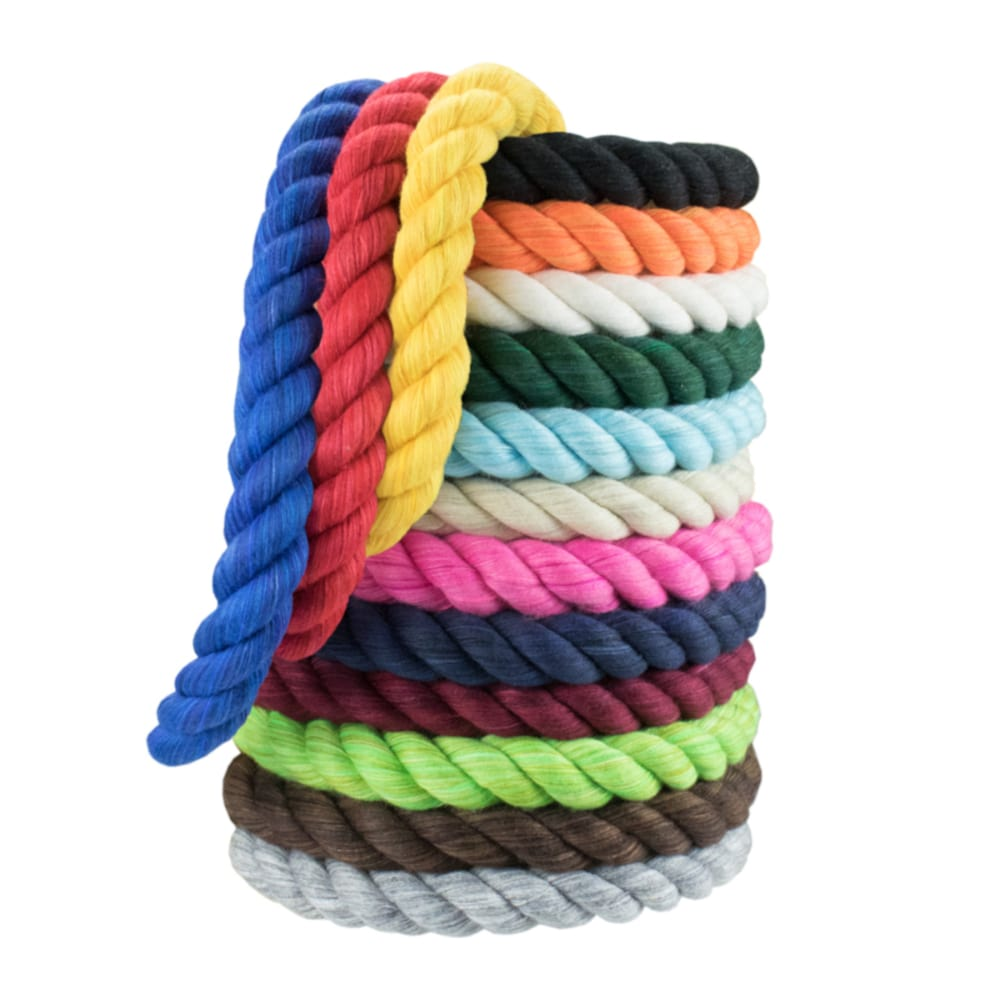 Twisted Colored Cotton Rope