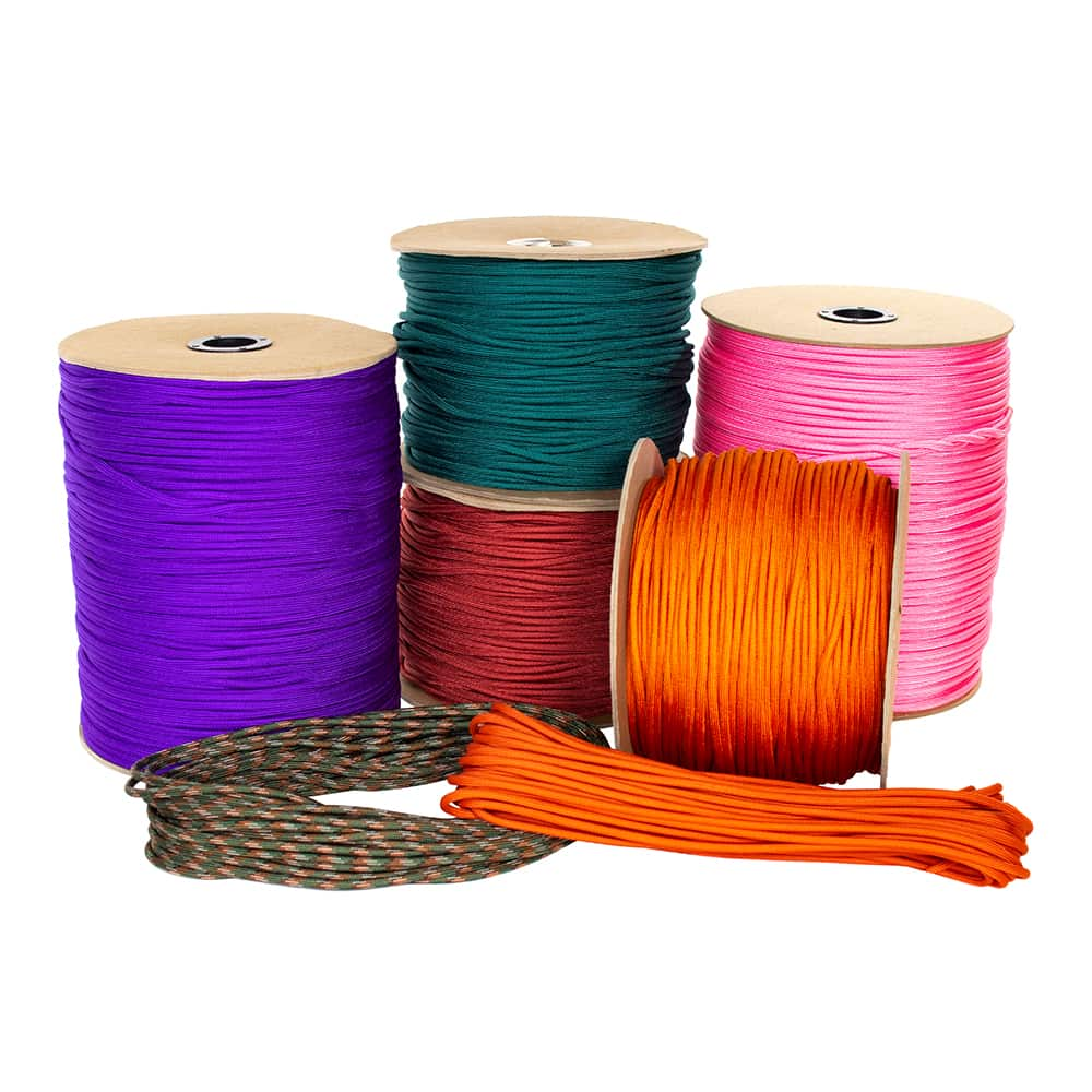 750 Type IV Nylon Paracord - 11 Inner Strands
