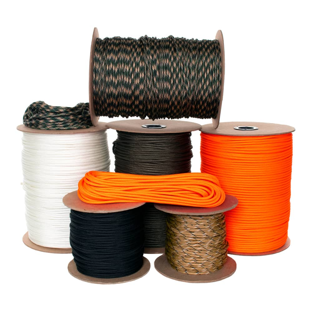 850 Type IV Nylon Paracord - 8 Inner Strands