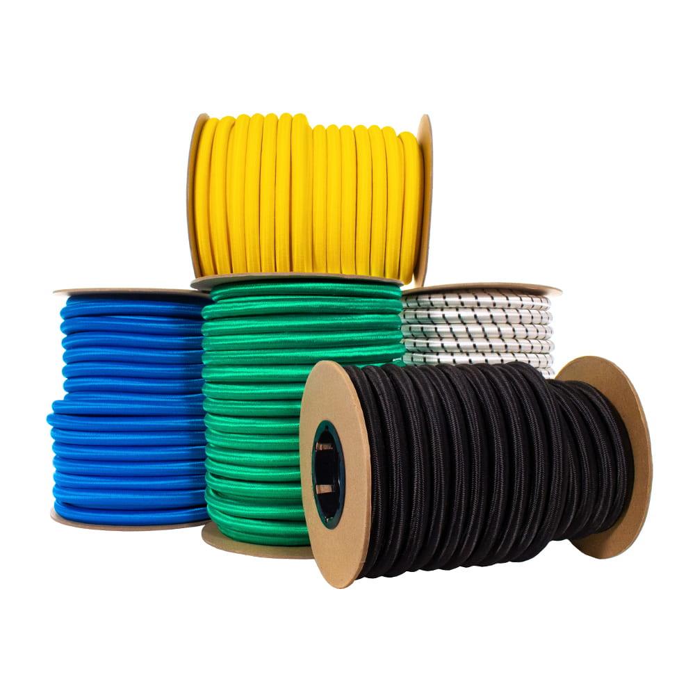 """5/8"""" Nylon Shock Cord - 195 Inner Rubber Strands"""