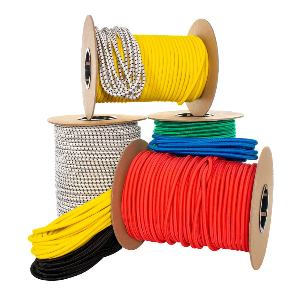 "5/16"" Nylon Shock Cord - 80 Inner Rubber Strands"