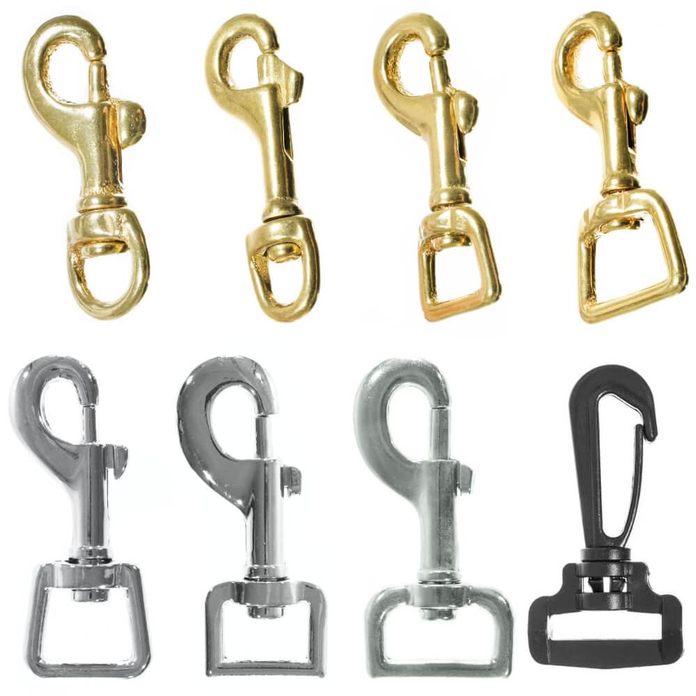 Swivel Snap Hooks - Different Kinds