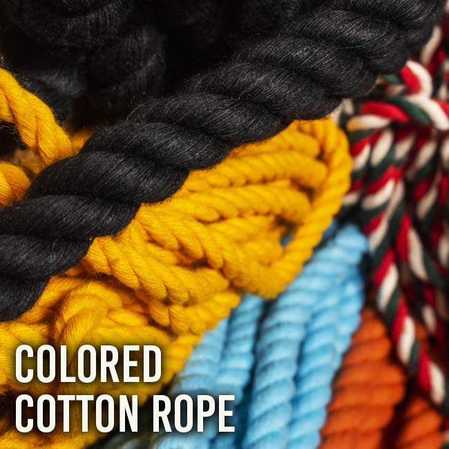 Colored Cotton Rope