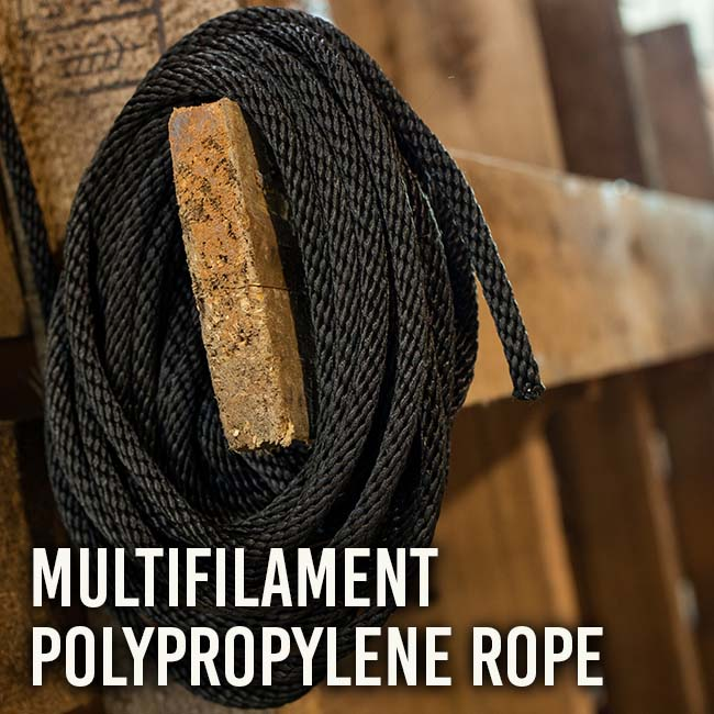 Solid Braid Multifilament Polypropylene Rope