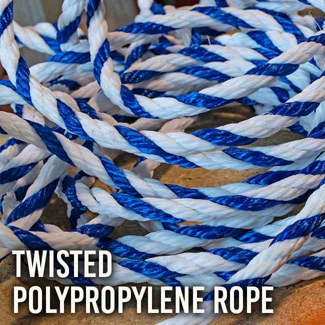 Twisted Poloypropylene Rope