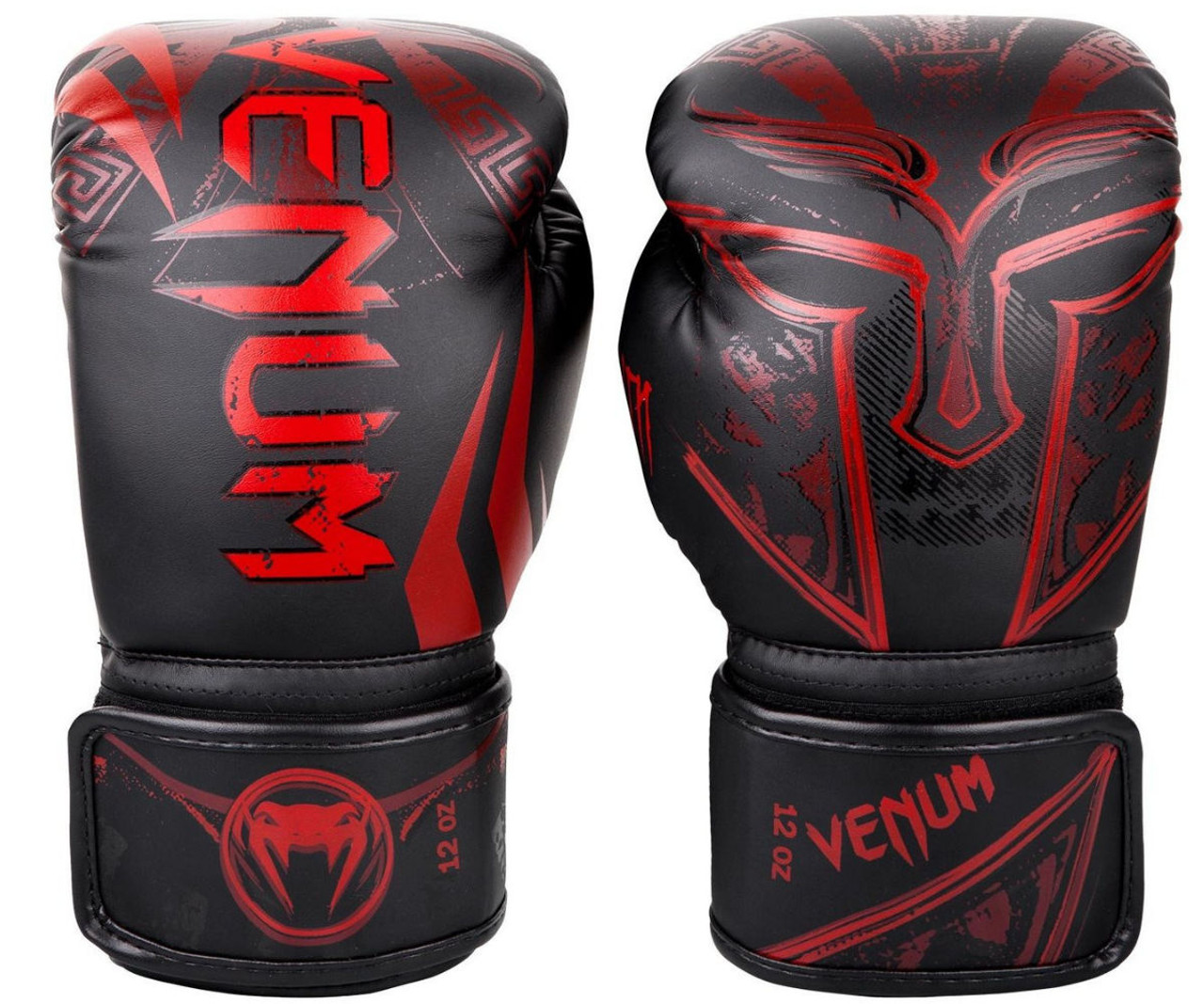 Venum Boxing Gloves Challenger 3.0 Black Red Muay Thai Kickboxing Sparring