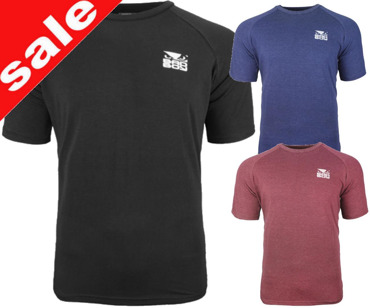 Bad Boy MMA Karate T Shirt Casual Wear Clothing Top Martial Arts