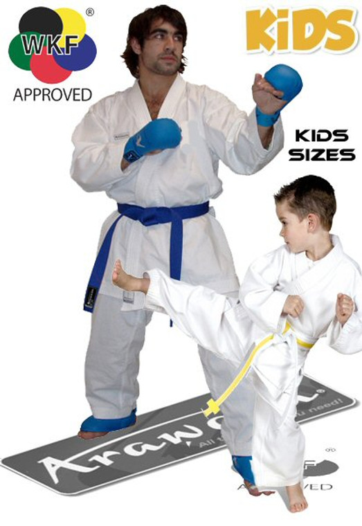 Arawaza Diamond Kumite Karate Gi Uniform Kids