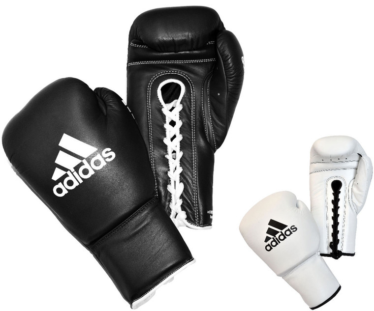 Adidas Pro Lace Up Boxing Gloves