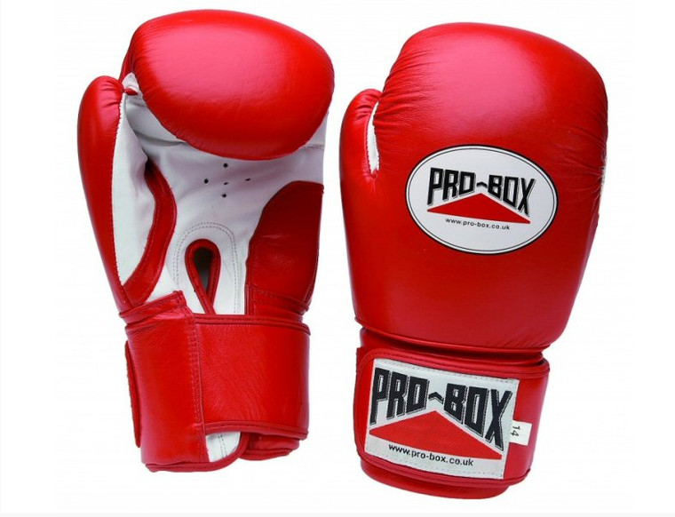 Pro Box Red Sparring Gloves