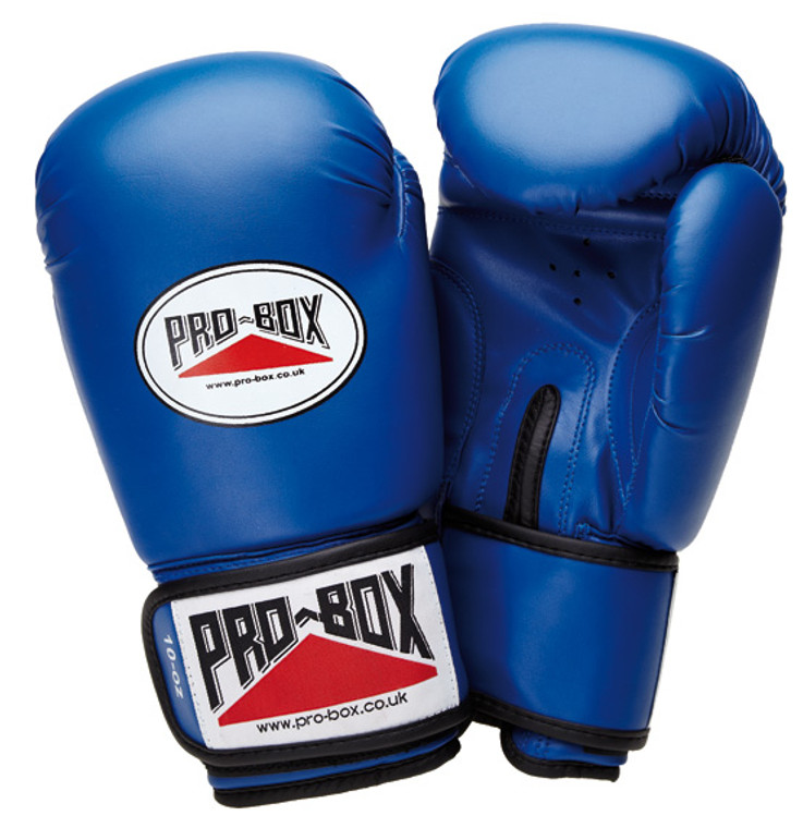 Pro Box Blue Junior Sparring Gloves