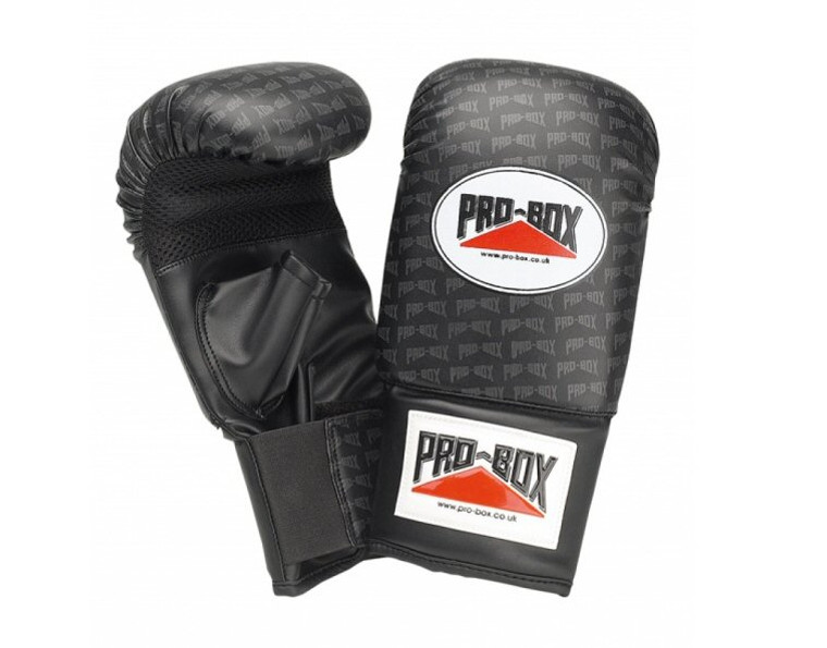 Pro Box Logo Collection Pu Punch Bag Mitts