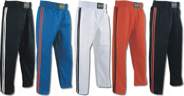 MAR Adult Kickboxing Trousers Satin