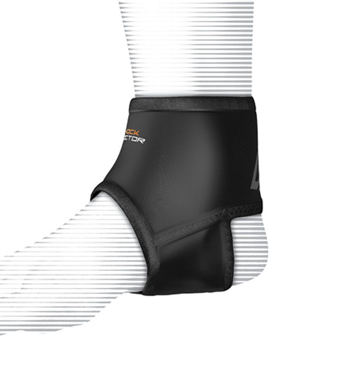 Shock Doctor Ankle sleeve with Compression Fit - Black