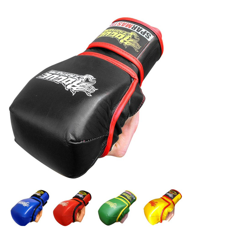 Rogue Leather Grapple And Strike Sparmaster MMA Training Gloves