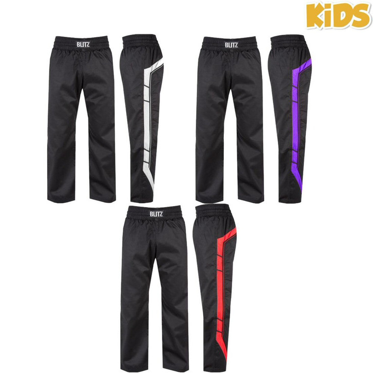 Blitz Kids Polycotton Elite Full Contact Trousers