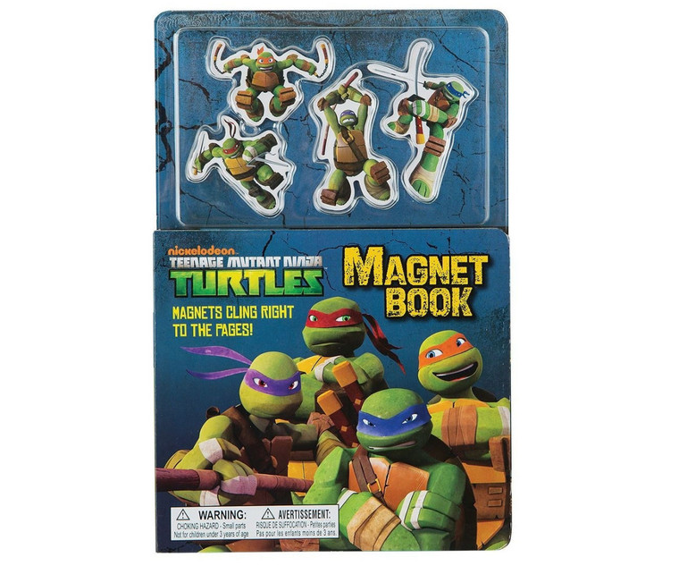 Century Teenage Mutant Ninja Turtles Magnet Book
