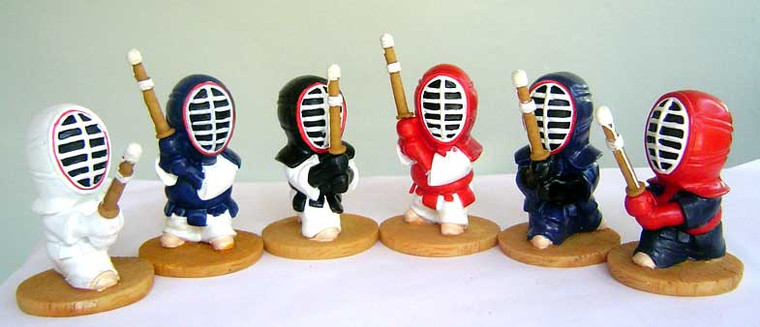 Martial Art Stick Fighting Figures