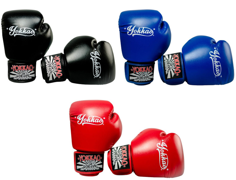 Yokkao Vertigo Leather Muay Thai Boxing Gloves