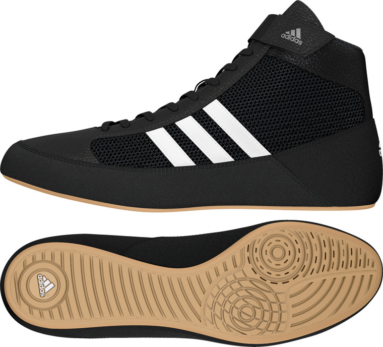 Adidas Havoc Black Wrestling Shoes