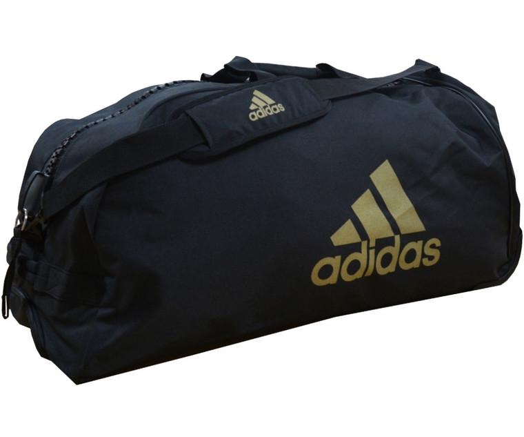 Adidas Combat Sports Trolley Bag Black Gold