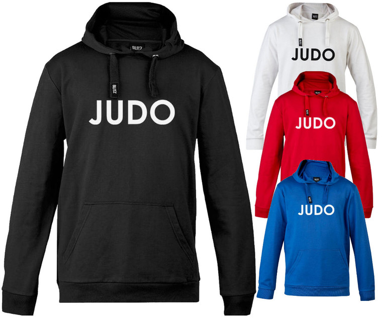 Blitz Judo Training Hooded Top