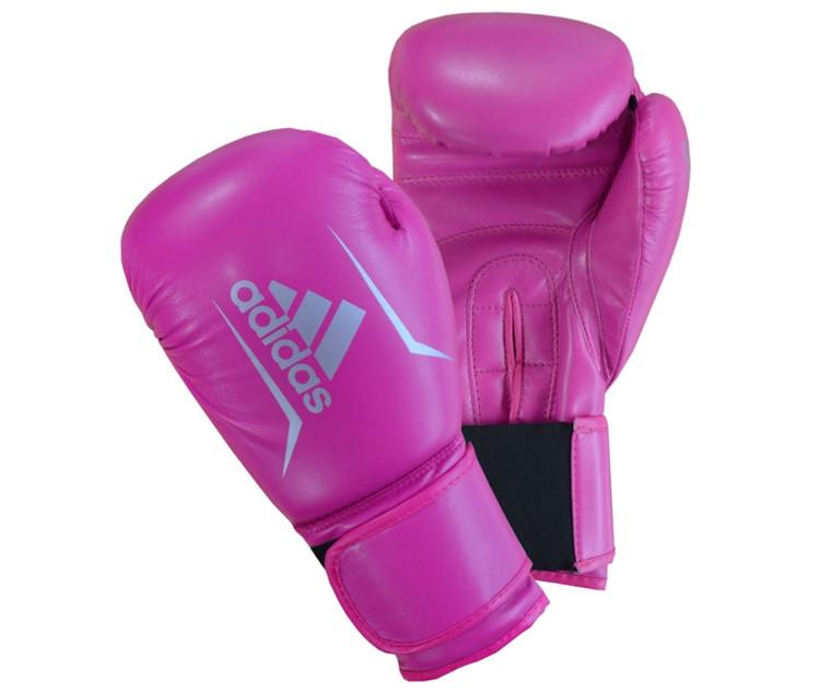 Adidas Speed 50 Women's Boxing Gloves Pink 10oz