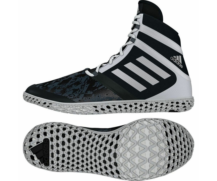 Adidas Flying Impact Boxing Wrestling Boots Black