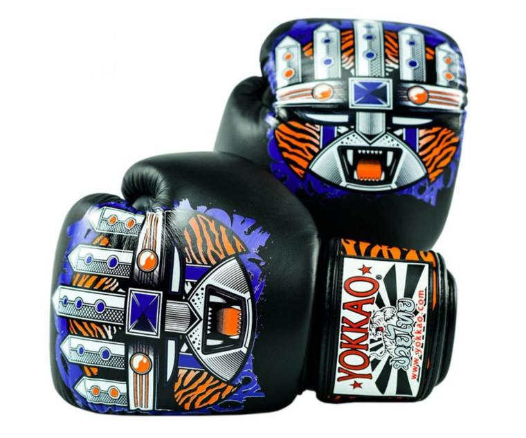 Yokkao APEX Tiger Muay Thai Boxing Gloves