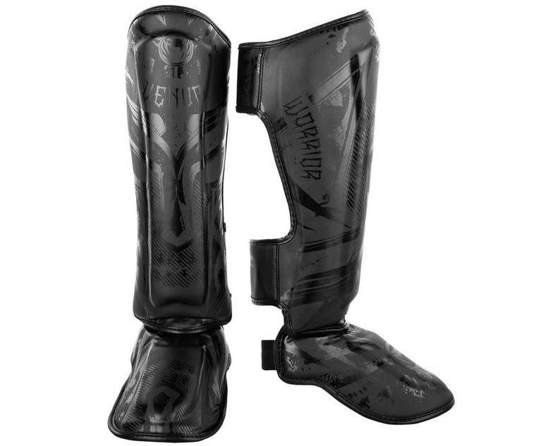 Venum Gladiator 3.0 Shin Guards Black Black