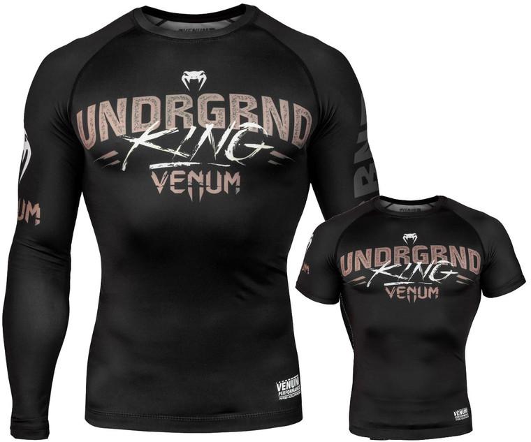 Venum Underground King Rash Guard Black
